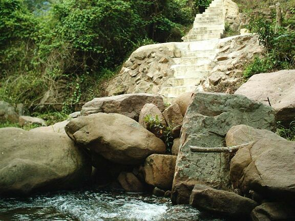 Stairway to Heaven? How not to treat the river bank